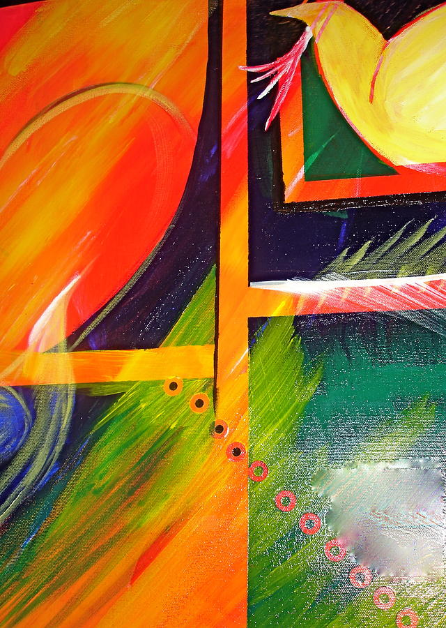 Love Painting - Love Song by Sheila J Hall