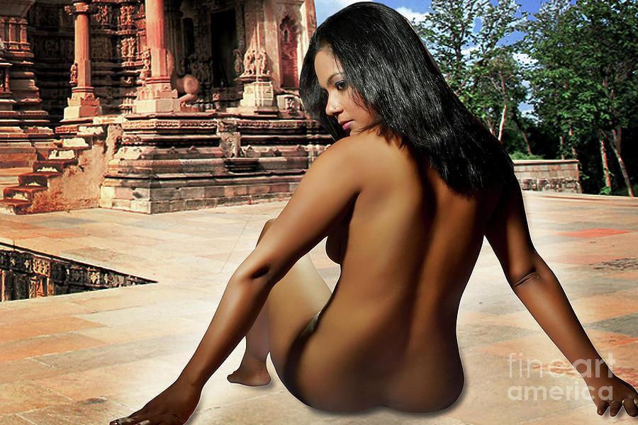 Nude Photograph - Love To God by Prasenjit Sanyal