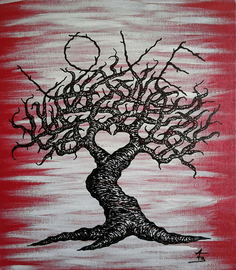 Love Tree Art by Aaron Bombalicki