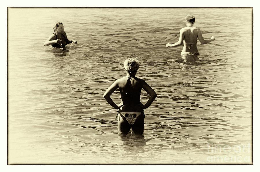 Love Triangle Photograph - Love Triangle by John Rizzuto
