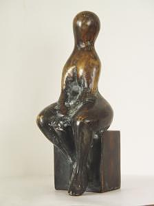 Women Sculpture - Love by Vasko Vassilev