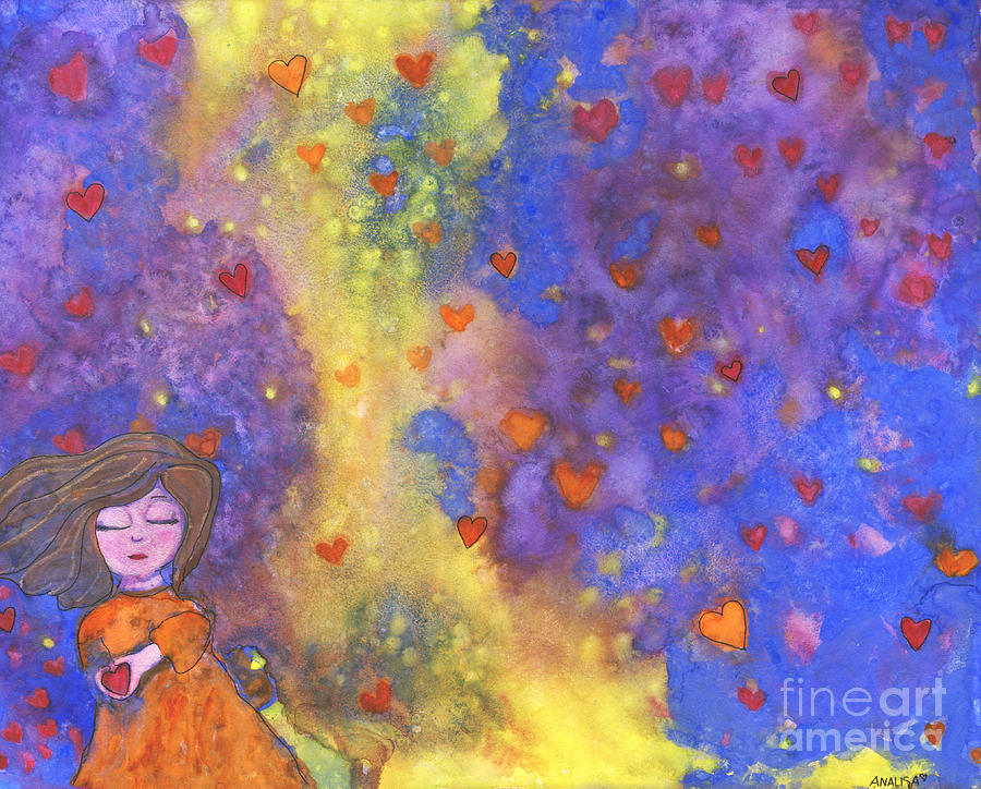 Love Painting - Love Will Find You by AnaLisa Rutstein