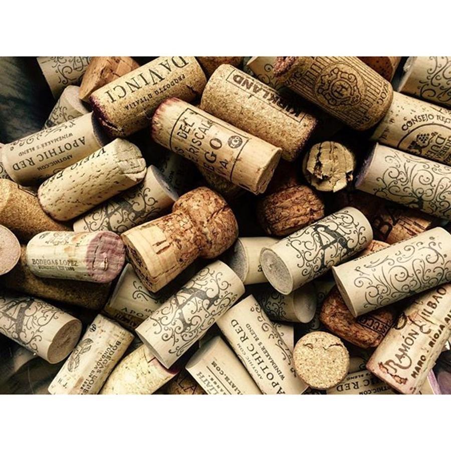 Abundance Photograph - Love Wine! #wine #juansilvaphotos #cork by Juan Silva