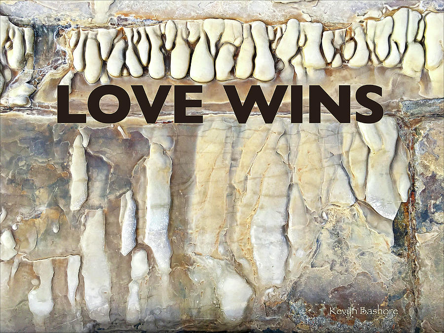 Love Digital Art - Love Wins by Kevyn Bashore