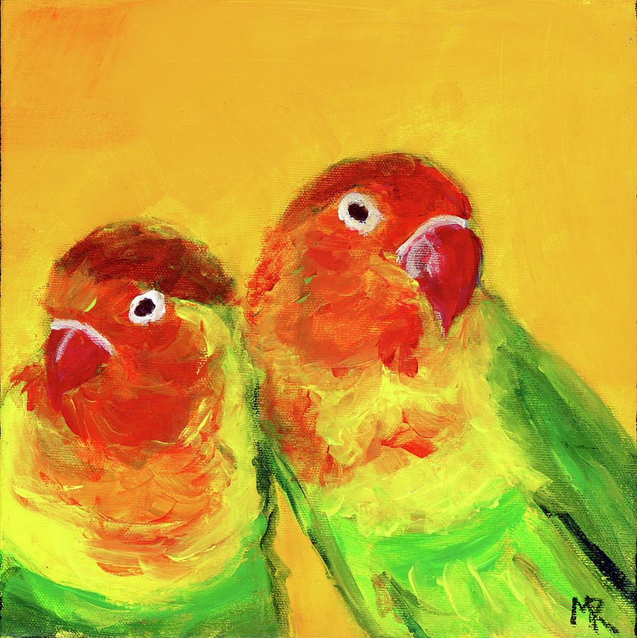 Lovebirds by Michelle Reeve
