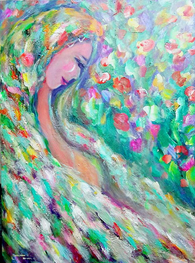 Lovely angel by Wanvisa Klawklean