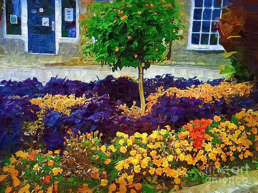 Colorful Flowers Painting - Lovely Colors by Deborah Selib-Haig DMacq