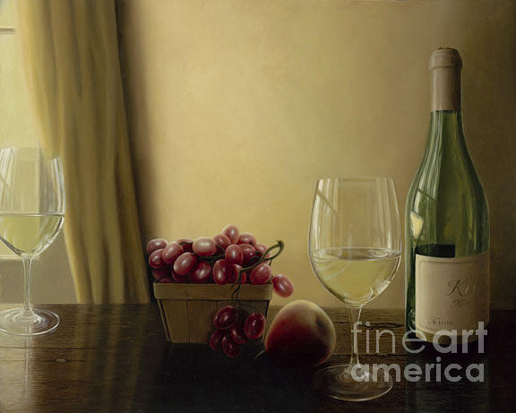 Realism Painting - Lovely Kistler by Suzanne Hughes Sullivan