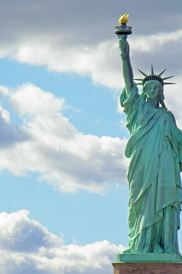 Liberty Is Lovely Lady >> Lovely Lady Liberty Photograph By Sharla Gentile