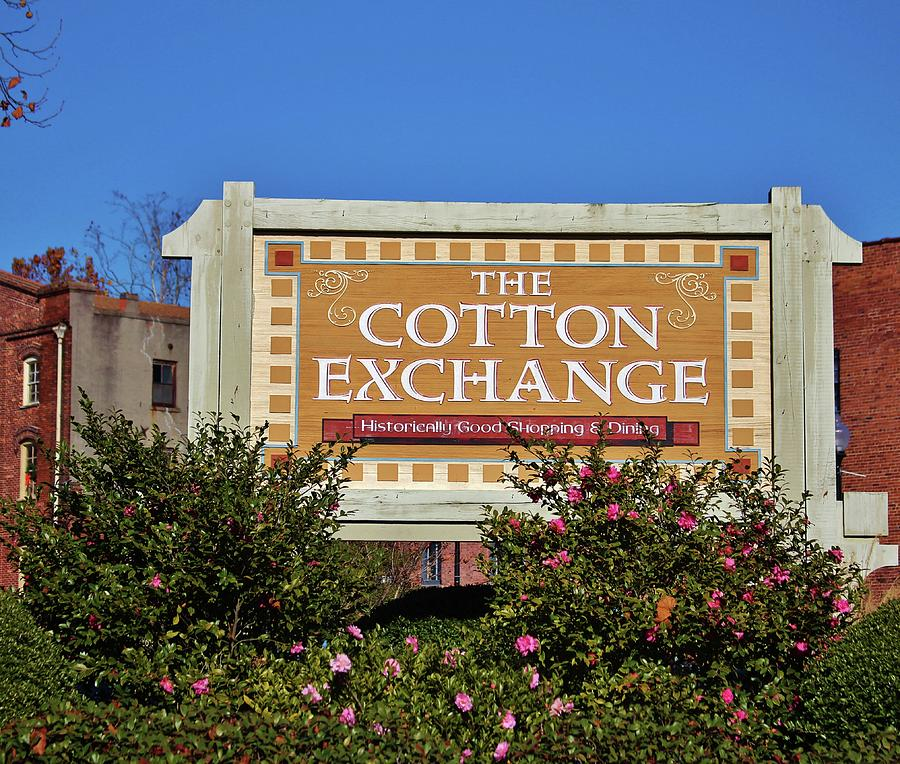 The Cotton Exchange Photograph - Lovely Place To Shop by Cynthia Guinn