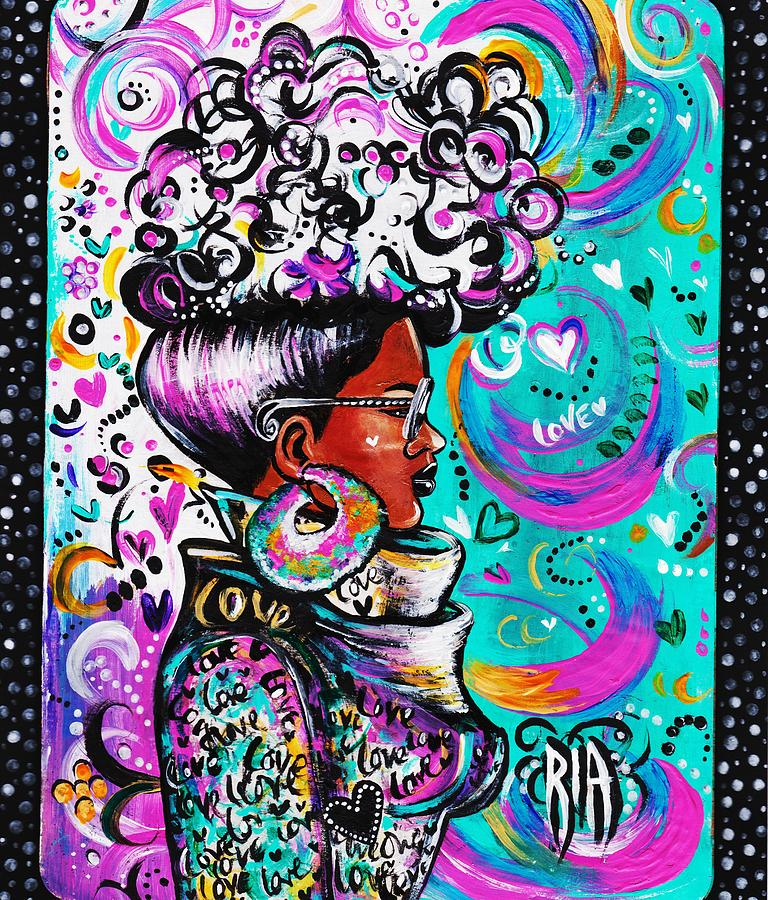 Afro Photograph - Lovely by Artist RiA