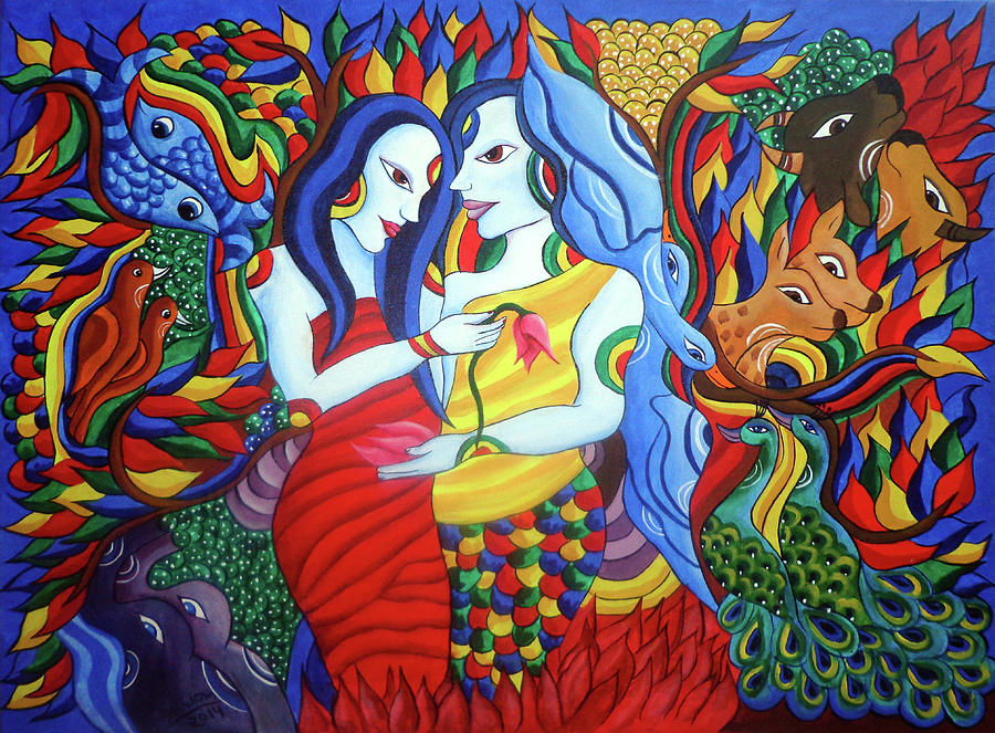 Lover Painting - Lover by Hariom Kuthwaria