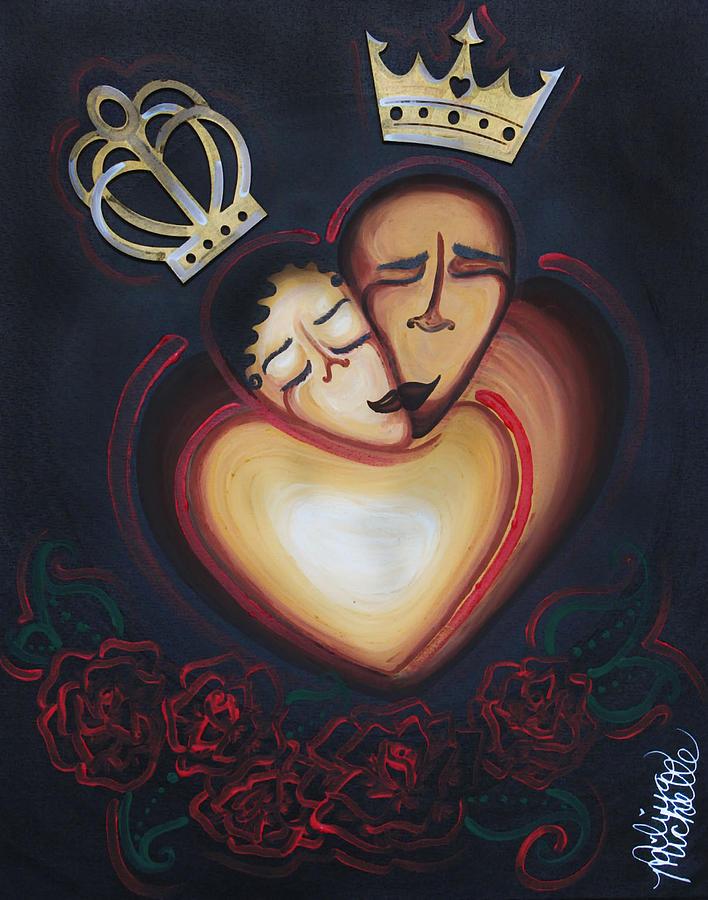 LOVERS EMBRACE by Aliya Michelle
