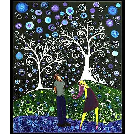 Lovers Lane Painting by Vanna Weinberg