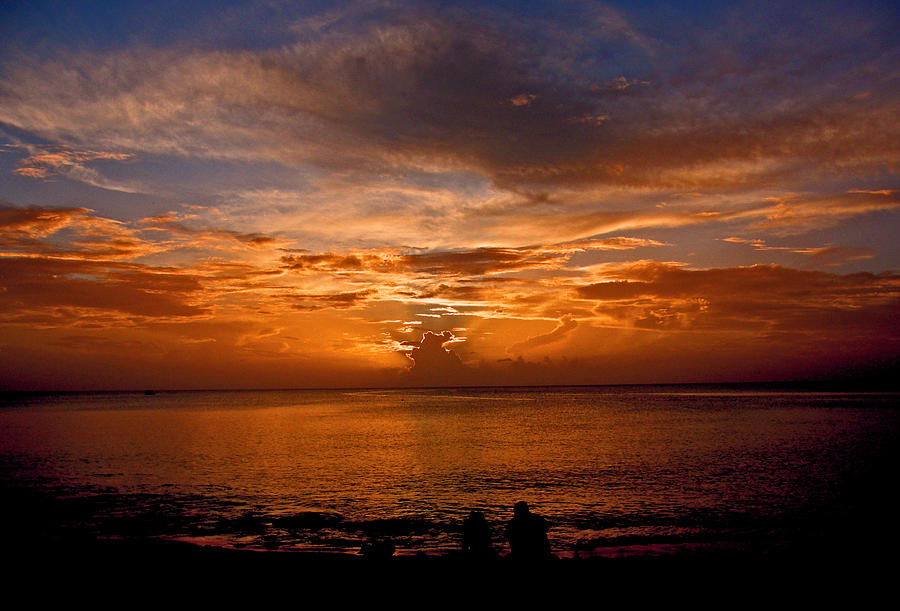 Sunsets Photograph - Lovers Sunset by Martin Morehead