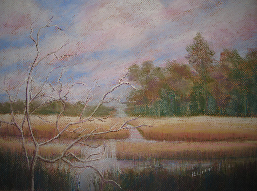 Landscape Painting - Low Country by Shirley Braithwaite Hunt