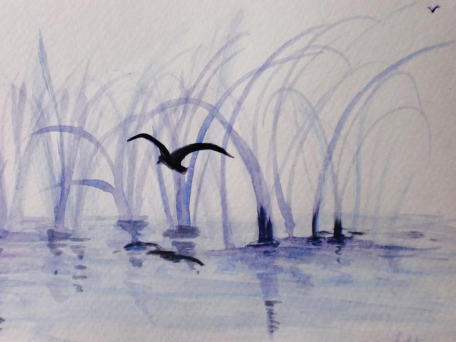 Flight Painting - Low Flight by Trilby Cole