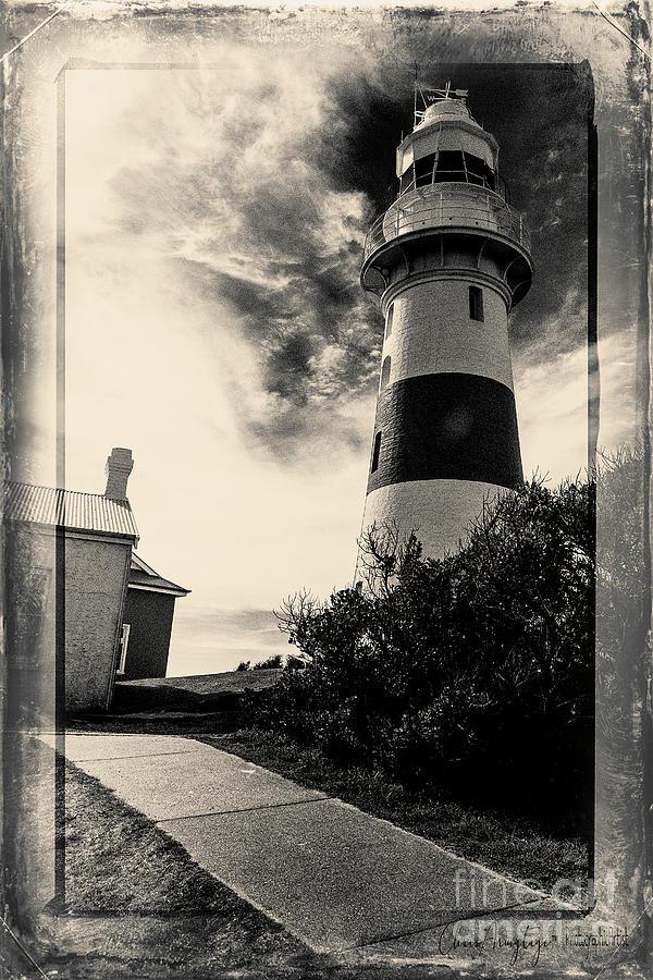 Tasmania Photograph - Low Head Lighthouse by Chris Armytage