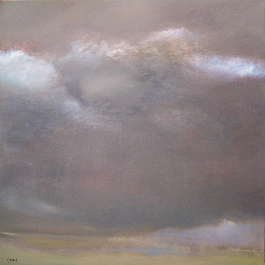 Low Lying Clouds Painting by Scott Spencer