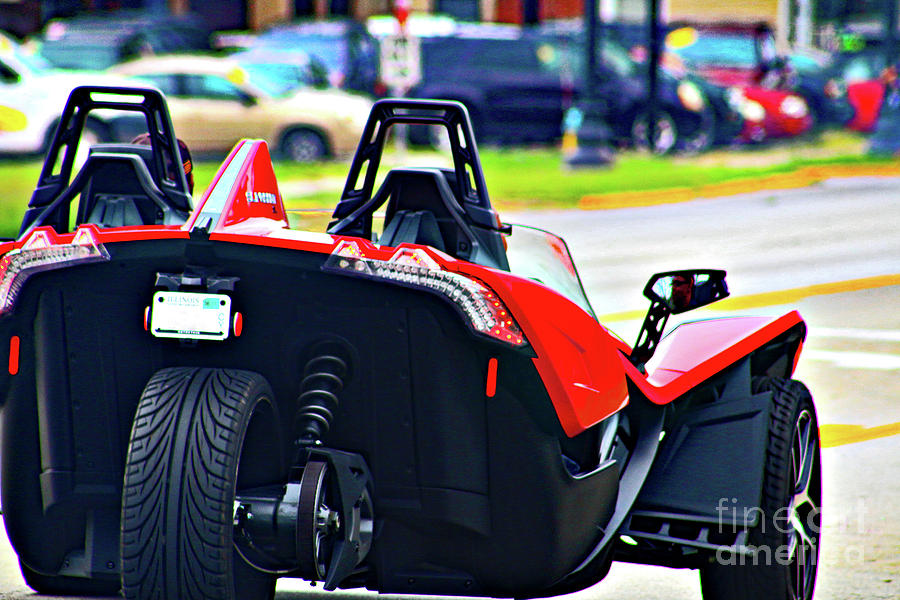 Low Riding In A Slingshot Photograph