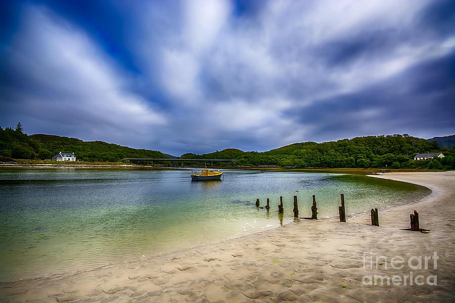 Low Tide At Morar Photograph