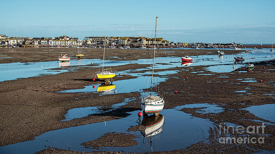 Low Tide At Teignmouth Photograph