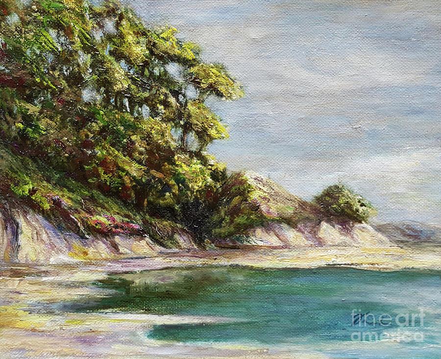 Low tide beach by Danuta Bennett