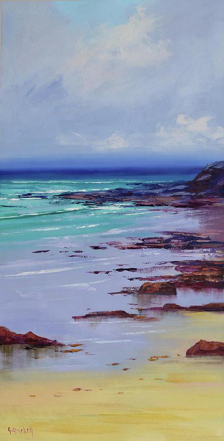 Low Tide Colors Painting