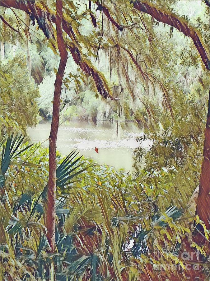 Lowcountry Digital Art - Lowcountry Summer by Melissa McInnis
