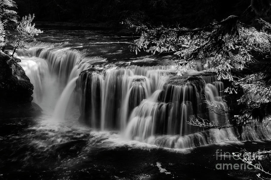 Pacific Photograph - Lower Lewis Falls Washington State by Bob Christopher