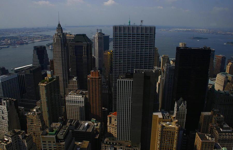 Lower Manhattan Photograph - Lower Manhattan by Christopher Kirby