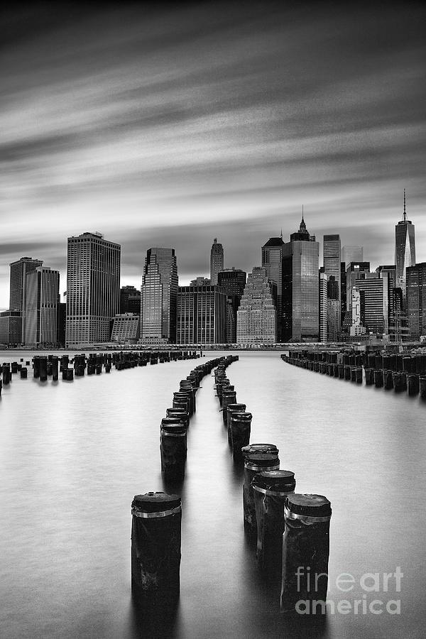 Black And White Photograph - Lower Manhattan by John Farnan