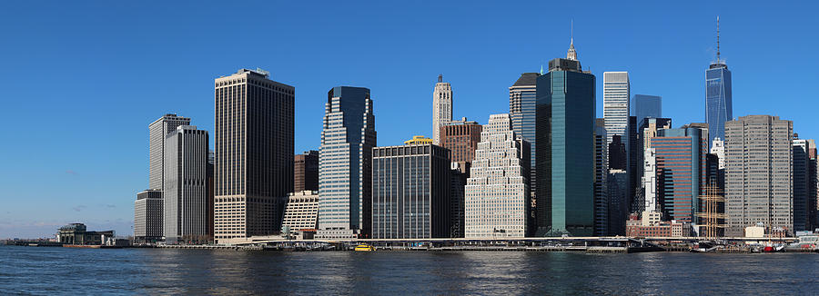 Lower Manhattan Photograph - Lower Manhattan by Tom Wade-West