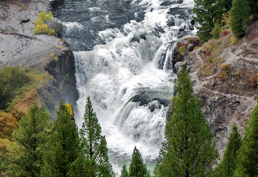 Lower Mesa Falls by Alex Galkin