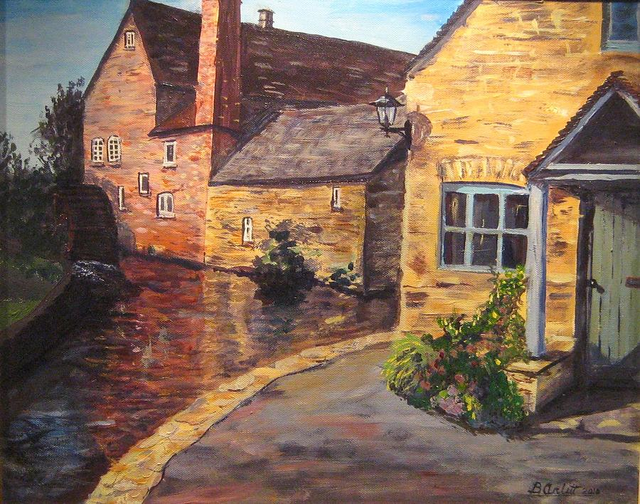 Lower Slaughter Mill by BRENT ARLITT