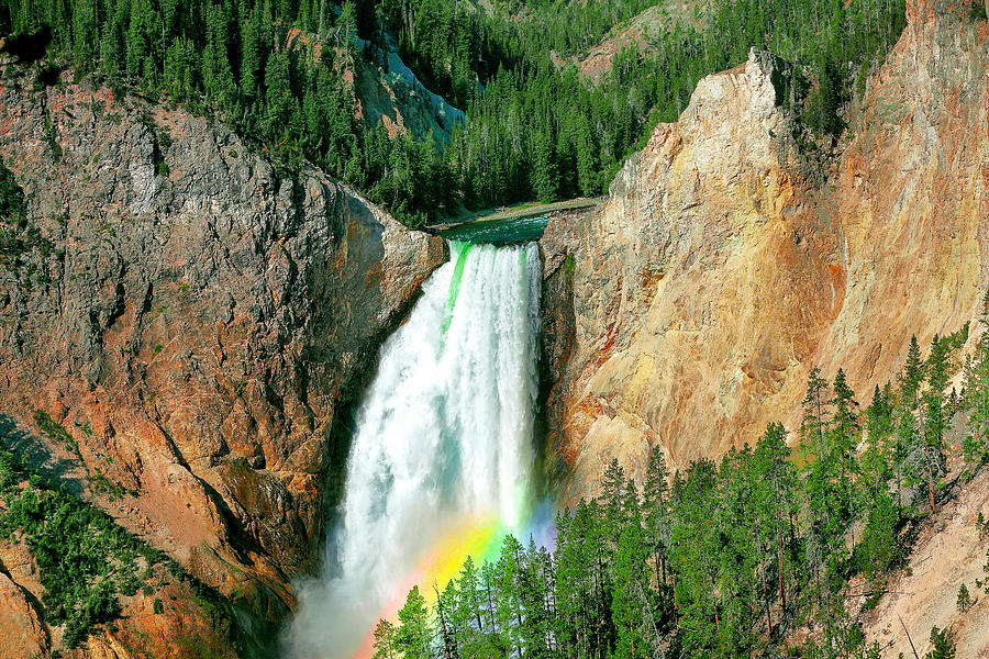 Lower Yellowstone Falls by Todd Klassy