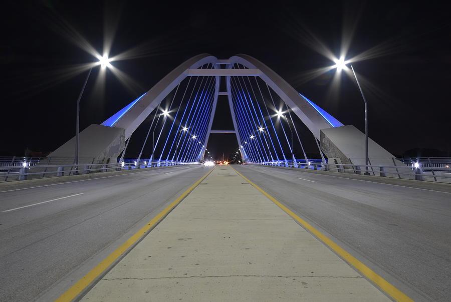 Minneapolis Photograph - Lowery Street Bridge by Steven Liveoak
