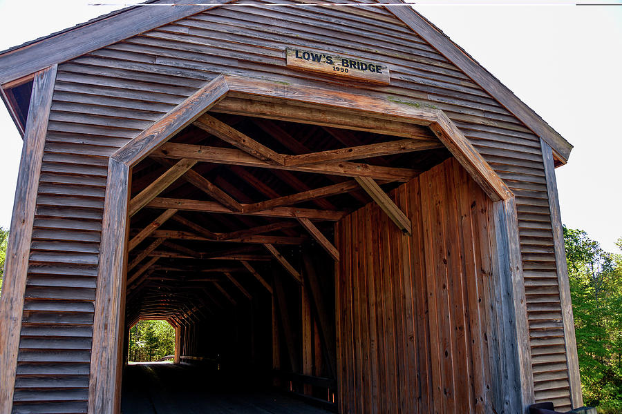 Low's Covered Bridge, Maine by Marilyn Burton