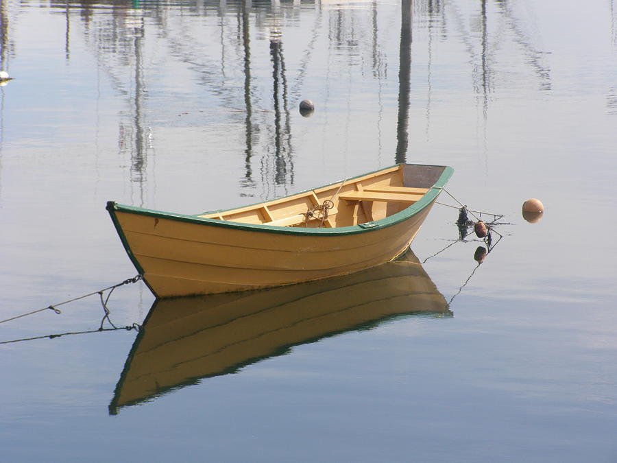 Row Boat Photograph - Lttle Row Boat by Frederic Durville