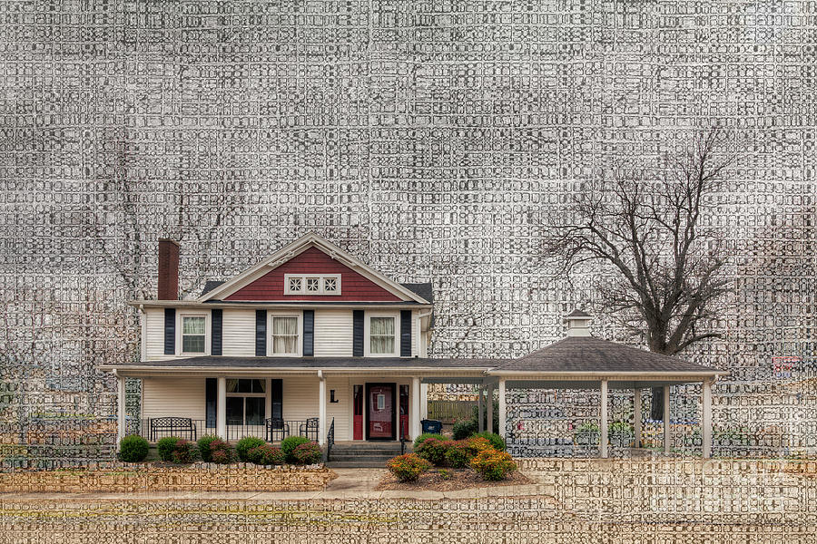 Travel Photograph - Lucas House by Larry Braun