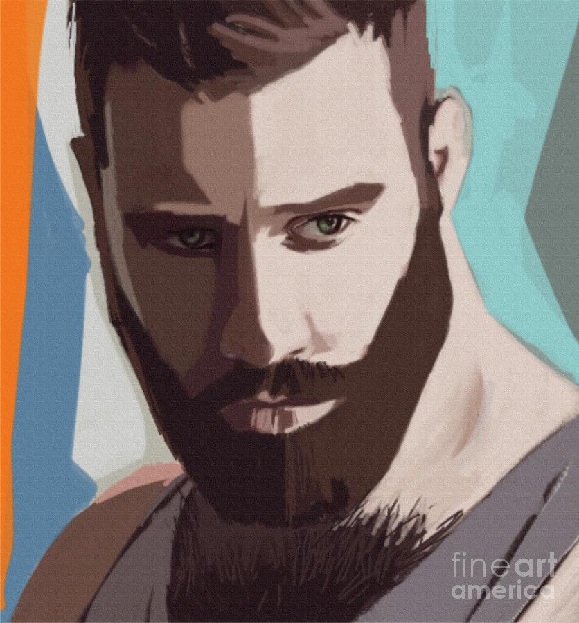Lucas Portrait by John Castell