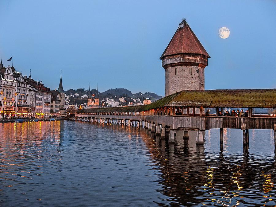 Landscape Photograph - Lucerne Switzerland by Arthur English