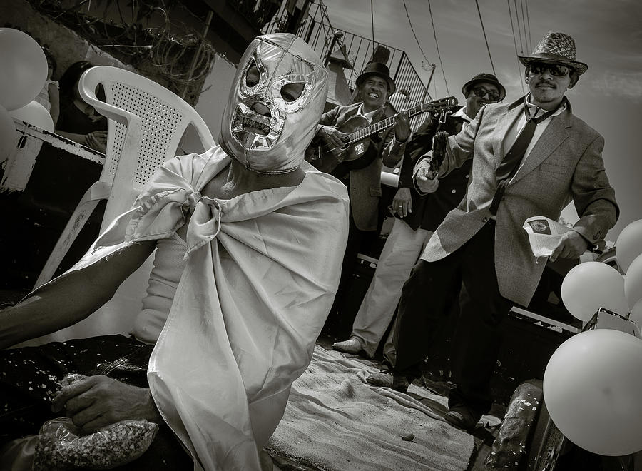 Mexico Photograph - Lucha Libre  by Dane Strom