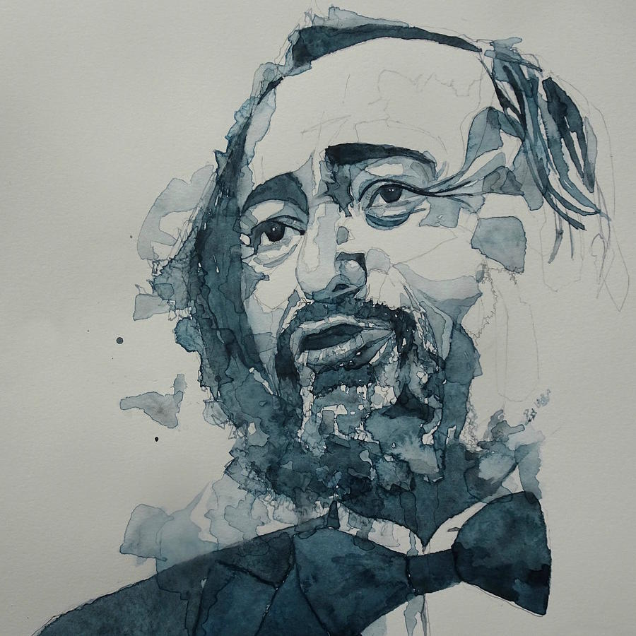 Luciano Pavarotti Painting - Luciano Pavarotti  by Paul Lovering