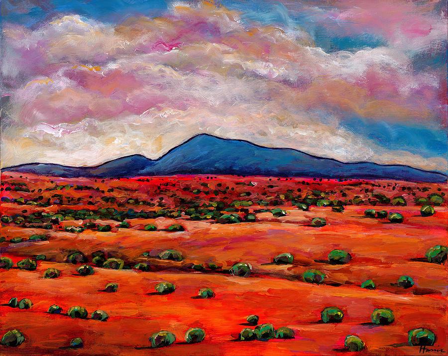 Southwest Desert Painting - Lucid Dream by Johnathan Harris
