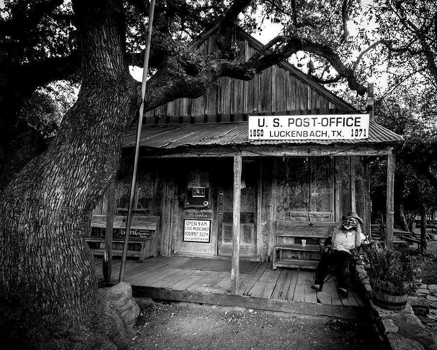 Country Photograph - Luckenbach Texas by David Morefield