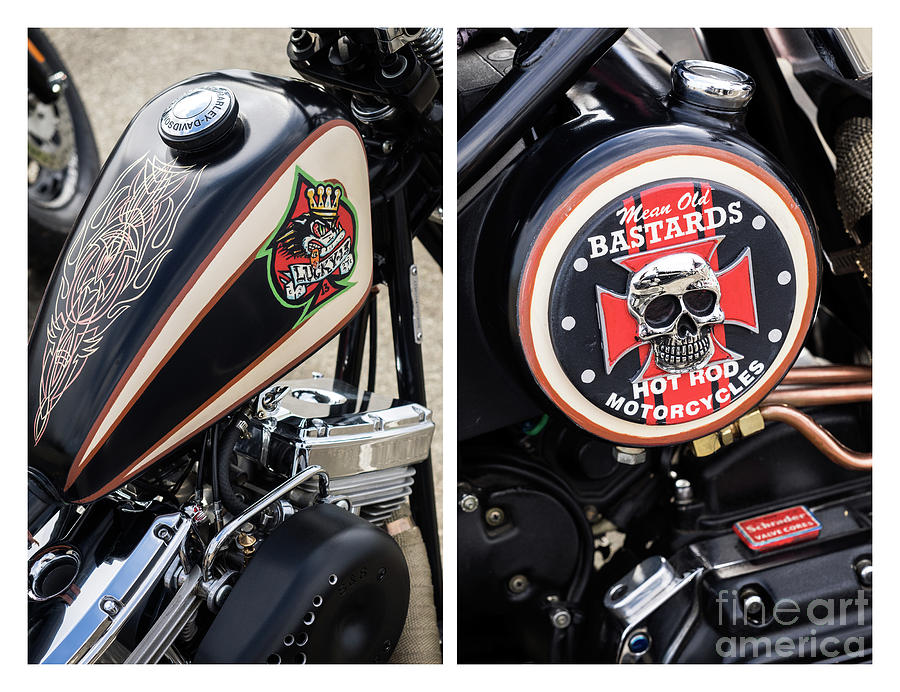 Lucky 13 Harley Collection 02 by Rick Piper Photography