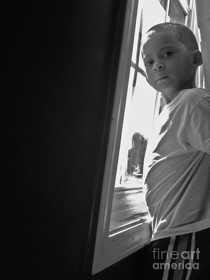 Black And White Photography Photograph - Lucky Shot by Michelle Teague