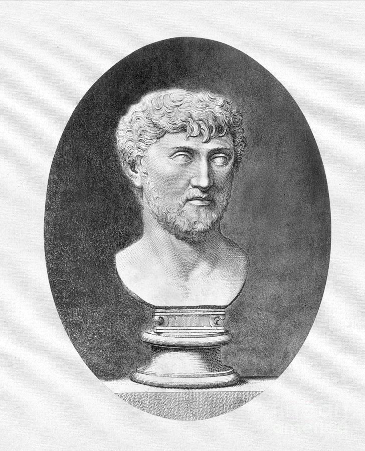 1st Century B.c. Photograph - Lucretius (96 B.c.?-55 B.c.) by Granger