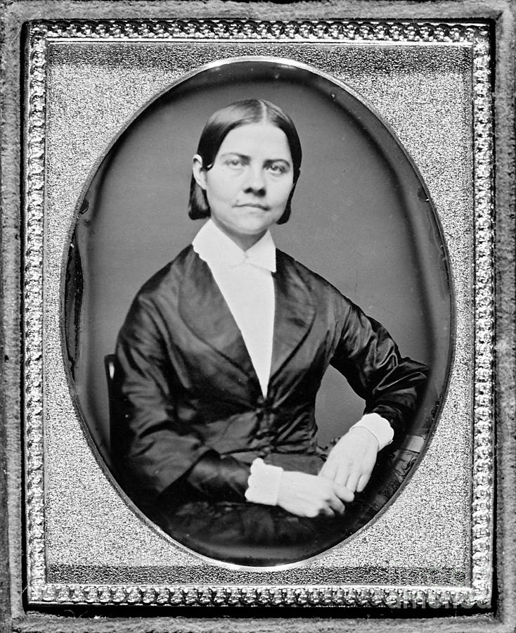 History Photograph - Lucy Stone, American Abolitionist by Photo Researchers